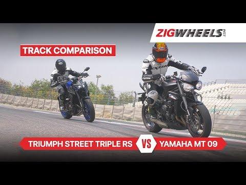 Yamaha MT 09 Vs Triumph Street Triple RS | Comparison Review | ZigWheels.com