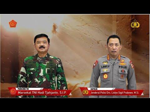 Ucapan Paskah Panglima TNI dan Kapolri