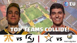 CRL Europe: Fnatic v. SK Gaming  | Allegiance v. Team Dignitas