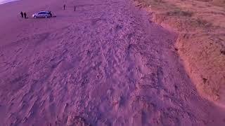 Inch beach Ireland FPV drone footage.