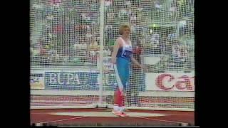 Olga Chernyavskaya Faul Discus Helsinki 1994