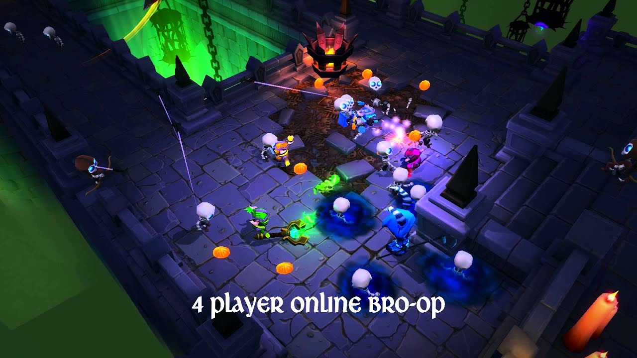 Wired Productions bringing Super Dungeon Bros to PlayStation 4!