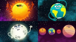 StoryBots Outer Space | Planets, Sun, Moon, Earth And Stars | Solar System Super Song | Fun Learning