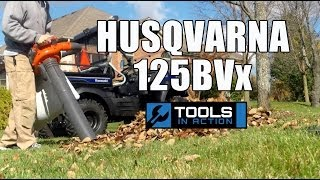 Husqvarna 125BVx Blower and Vac