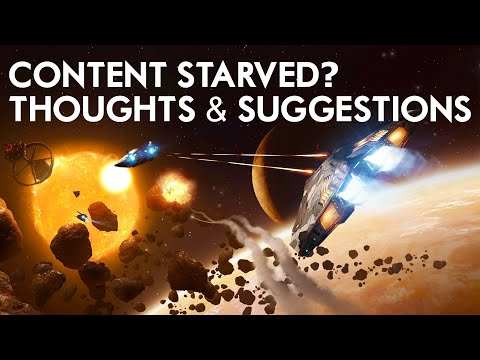 Elite Dangerous - Content Starvation - Making Better Use Of Existing Assets