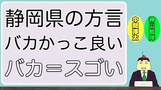 静岡県の方言「バカかっこ良い」『バカ』と『アホ』