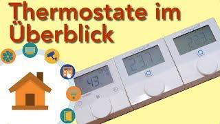 HomeMatic Wandthermostate - Das sind die Unterschiede! | verdrahtet.info [4K]