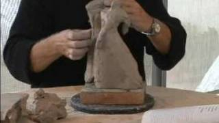 How To Sculpt Dancer Figurines : How To Combine Clay Figurines