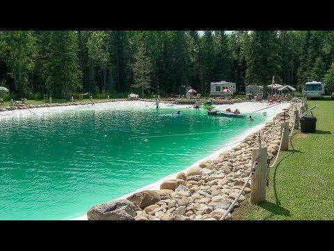 Check Out This 500,000 Gallon Pool!