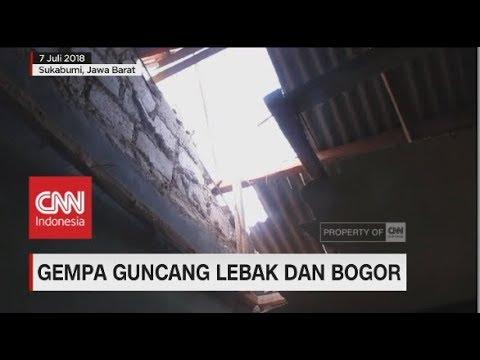 Gempa Guncang Lebak & Bogor
