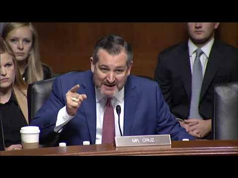 Sen. Cruz GOES OFF on Senate Democrats Whose Political Posturing is Costing Innocent American Lives