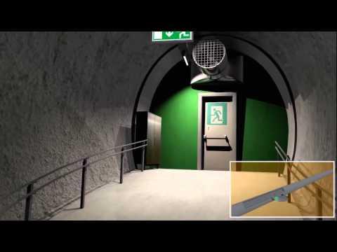 Rettungssystem im Arlbergtunnel: Verhalten im Ernstfall