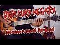 DESA LUKA NEGARA Jalanan Adalah Sekolah gitar chord lirik tutorial lesson kunci