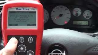 Autel JP701 Diagnose & Reset Nissan Airbag Warning Light & Fault Code