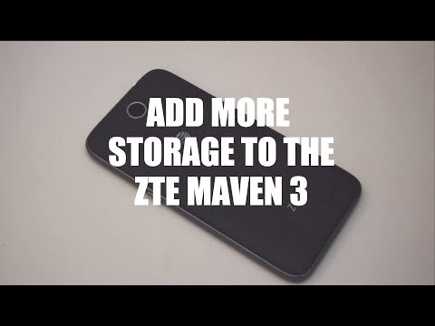Add more space to the ZTE Maven 3 easily! — Z-Community