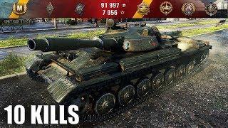 Когда МЕХВОД БУХОЙ 🌟 10 ФРАГОВ 🌟 Т-100 ЛТ  как играют статисты на лт World of Tanks лучший бой wot