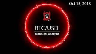 Bitcoin Technical Analysis (BTC/USD) : Not yet a party but keep your bull horn close  [10.15.2018]