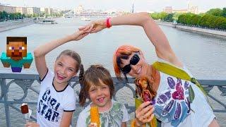 Капуки Кануки Маша, Лучшая Подружка Света и Игробой Адриан. Кораблики в Москве для детей