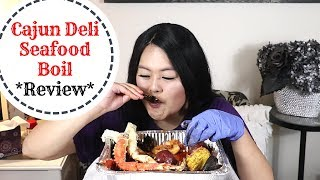 Highly requested: King crab, shrimp, and mussel seafood boil mukbang from Cajun Deli!
