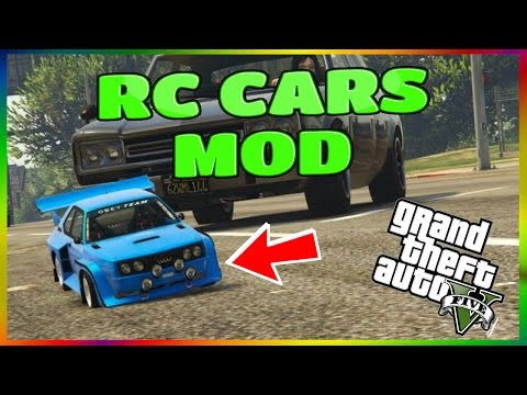 GTA 5 RC CARS MOD!! (GTA 5 Mods)
