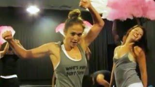 """Jennifer Lopez on the """"Let's Get Loud"""" Dance Number"""