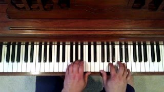 PianoLesson:Someone to Watch Over Me..Chord Flow Connection