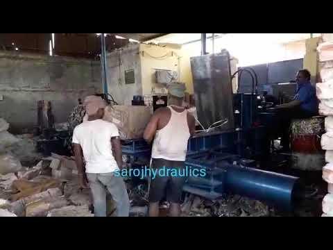 Automatic Scrap Baling Machine