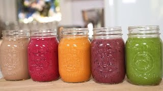 5 MORE Incredible Smoothie Recipes