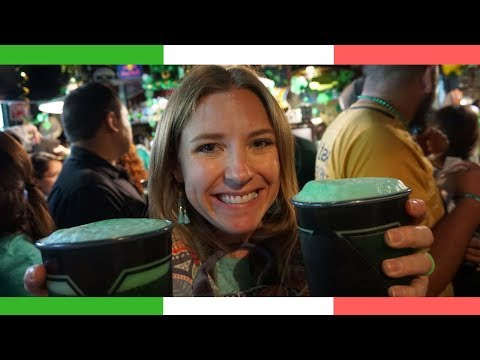 Celebrating St. Patrick's Day in Mexico City