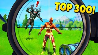 TOP 300 FUNNIEST FAILS IN FORTNITE (Part 4)