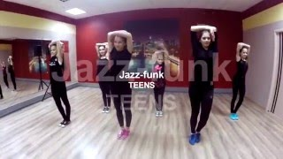 "Jazz-funk TEENS ""BAD DANCER - YOKO"" / DANCE CENTER"