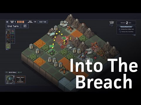 Let's play Into The Breach: FTL meets Advance Wars for the PC