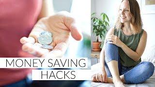 MONEY SAVING TIPS | minimalist, lifestyle & food hacks to save money