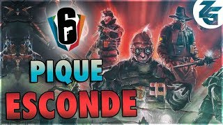Pique esconde: Novo modo do R6