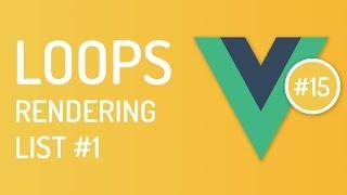 Loops & Key in vuejs - List rendering in vuejs #1 - Vuejs tutorial - Tutorial 15