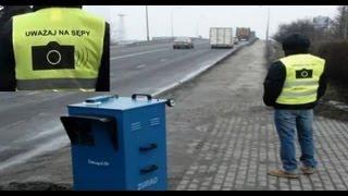 preview picture of video 'odc. 56 SM Inowrocław błędy fotoradaru - TIR 94km/h na wstecznym i inne szopki TVBigos Channel'
