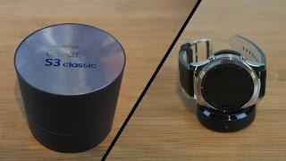 Samsung Gear S3 Classic Unboxing-Ruben Orfeo 4K