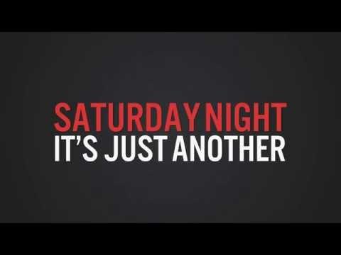 Familiar Looking Strangers - Saturday Night (Lyric Video)
