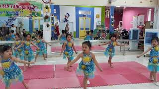 Các động tác múa cơ bản cho bé
