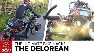The DeLorean Bike | GCN's Ultimate Hack Bicycle?