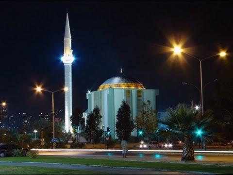 Вечерний звон. TURKEY. IZMIR. Азан (призыв на молитву) под звуки дождя.