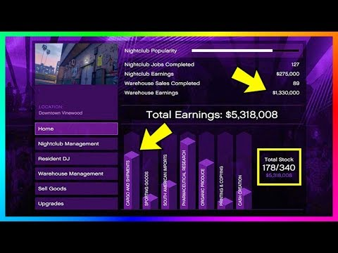 GTA Online After Hours DLC Nightclub Business Money Making Guide - Payouts, Selling Goods & MORE!