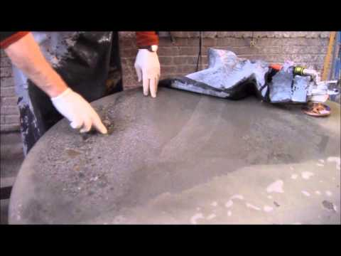 Polishing Concrete Countertops