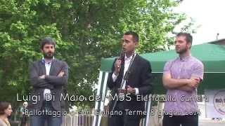 preview picture of video 'Giuseppe Strignano   Ballottaggio M5S a San Giuliano Terme 8 giugno 2014'