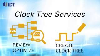 Clock Tree Design & Review Services by IDT