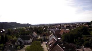 preview picture of video 'vor dem haus hoch mit der parrot ar drone'
