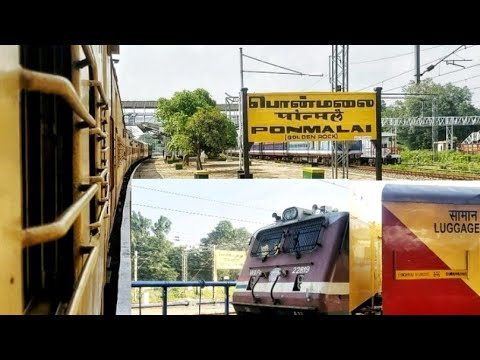 Full journey from Chennai Egmore to Trichy by Guruvayur COVID19 special express I Indian Railways