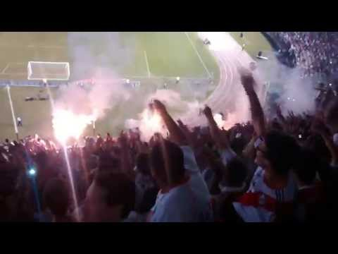 """""""Hinchada de River vs San Lorenzo - Recopa Sudamericana 2015"""" Barra: Los Borrachos del Tablón • Club: River Plate"""