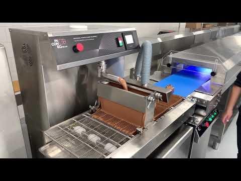 Επικαλυπτική Μηχανή Σοκολάτας Σειρά Chocovision EX