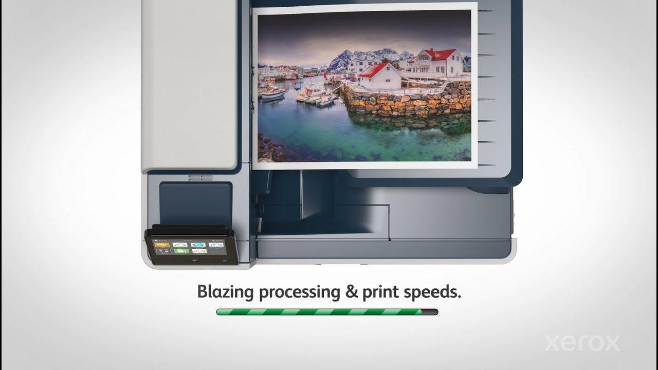 Xerox VersaLink C8000/C9000: Unrivaled Color YouTube Video